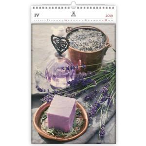"""Náhled reklamního předmětu """"Nástěnný kalendář Provence Exclusive edition 2019"""""""