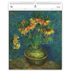 """Náhled reklamního předmětu """"Nástěnný kalendář Vincent Exclusive edition 2019"""""""