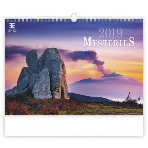 """Náhled reklamního předmětu """"Nástěnný kalendář Mysteries 2019"""""""