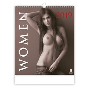 """Náhled reklamního předmětu """"Nástěnný kalendář Women 2019"""""""