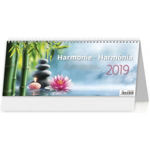 """Náhled reklamního předmětu """"Stolní kalendář Harmonie / Harmónia 2019"""""""