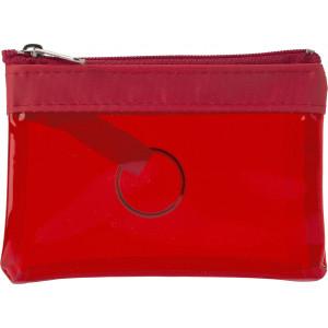 """Reklamní předmět """"Klíčenka PVC"""" v barevné variantě červená"""