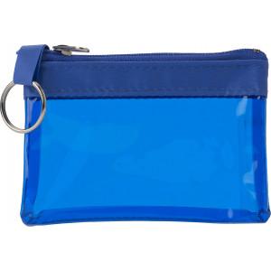 """Reklamní předmět """"Klíčenka PVC"""" v barevné variantě modrá"""