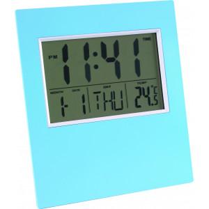 """Reklamní předmět """"Stolní hodiny"""" v barevné variantě světle šedá"""