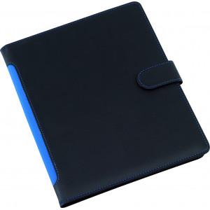 """Reklamní předmět """"Spisovka A5"""" v barevné variantě černá/modrá"""
