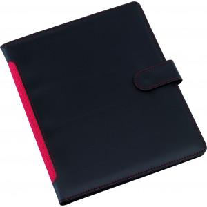 """Reklamní předmět """"Spisovka A5"""" v barevné variantě černá/červená"""