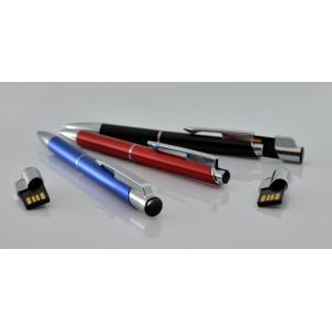 """Fotografie č. 2 k reklamnímu předmětu """"Kovové kuličkové pero (propiska) Top USB s flashdiskem"""""""