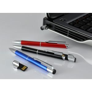 """Fotografie č. 1 k reklamnímu předmětu """"Kovové kuličkové pero (propiska) Top USB s flashdiskem"""""""