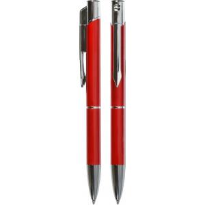 """Reklamní předmět """"Kovové kuličkové pero (propiska) Top USB s flashdiskem"""" v barevné variantě tmavě červená"""