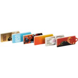 """Náhled reklamního předmětu """"Flashdisk USB s plnobarevným potiskem"""""""