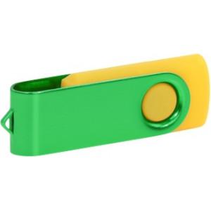 """Reklamní předmět """"Flashdisk USB 2.0"""" v barevné variantě fialová/ocelově modrá"""