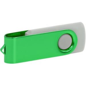 """Reklamní předmět """"Flashdisk USB 2.0"""" v barevné variantě fialová/azurová"""