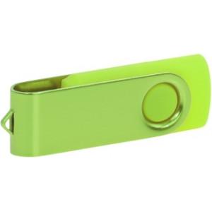 """Reklamní předmět """"Flashdisk USB 2.0"""" v barevné variantě fialová/oranžová"""