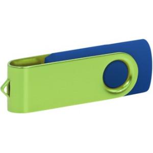 """Reklamní předmět """"Flashdisk USB 2.0"""" v barevné variantě fialová/bílá"""