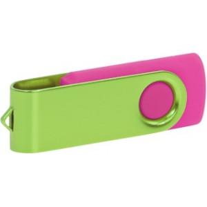 """Reklamní předmět """"Flashdisk USB 2.0"""" v barevné variantě fialová/světle šedá"""