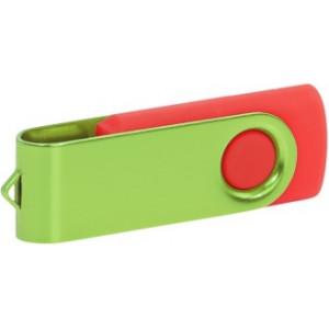 """Reklamní předmět """"Flashdisk USB 2.0"""" v barevné variantě fialová/šedá"""