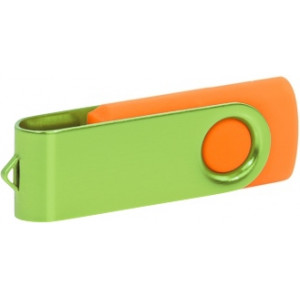 """Reklamní předmět """"Flashdisk USB 2.0"""" v barevné variantě fialová/černá"""
