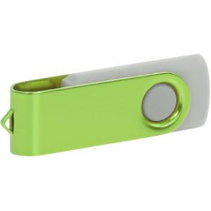 """Reklamní předmět """"Flashdisk USB 2.0"""" v barevné variantě růžová/azurová"""
