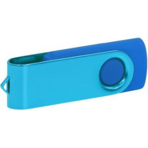 """Reklamní předmět """"Flashdisk USB 2.0"""" v barevné variantě růžová/žlutooranžová"""