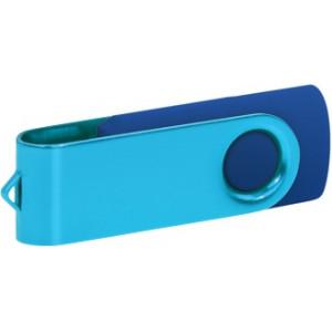 """Reklamní předmět """"Flashdisk USB 2.0"""" v barevné variantě růžová/bílá"""