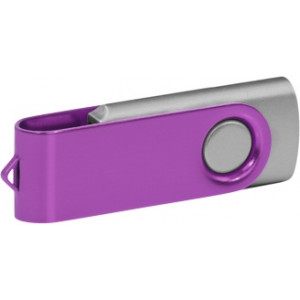 """Reklamní předmět """"Flashdisk USB 2.0"""" v barevné variantě tmavě zelená/červená"""