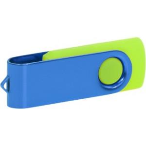 """Reklamní předmět """"Flashdisk USB 2.0"""" v barevné variantě oranžová/oranžová"""