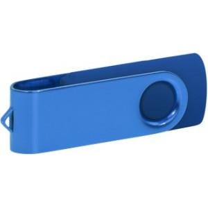 """Reklamní předmět """"Flashdisk USB 2.0"""" v barevné variantě oranžová/bílá"""