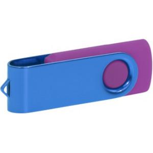"""Reklamní předmět """"Flashdisk USB 2.0"""" v barevné variantě oranžová/stříbrná"""