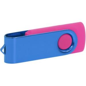 """Reklamní předmět """"Flashdisk USB 2.0"""" v barevné variantě oranžová/světle šedá"""
