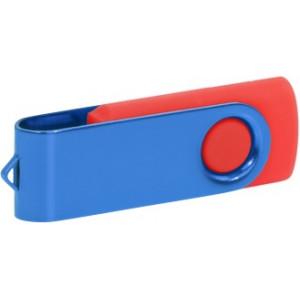 """Reklamní předmět """"Flashdisk USB 2.0"""" v barevné variantě oranžová/šedá"""