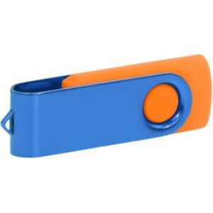 """Reklamní předmět """"Flashdisk USB 2.0"""" v barevné variantě oranžová/černá"""
