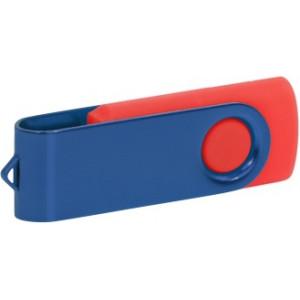 """Reklamní předmět """"Flashdisk USB 2.0"""" v barevné variantě červená/šedá"""