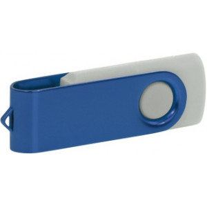 """Reklamní předmět """"Flashdisk USB 2.0"""" v barevné variantě zlatá/azurová"""