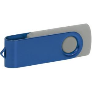 """Reklamní předmět """"Flashdisk USB 2.0"""" v barevné variantě zlatá/námořnická modř"""