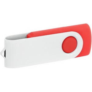 """Reklamní předmět """"Flashdisk USB 2.0"""" v barevné variantě bílá/oranžová"""
