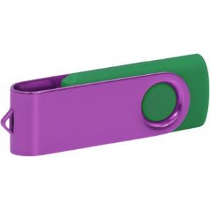 """Reklamní předmět """"Flashdisk USB 2.0"""" v barevné variantě zlatá/růžová"""
