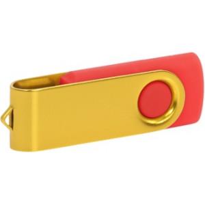 """Reklamní předmět """"Flashdisk USB 2.0"""" v barevné variantě žlutá/oranžová"""