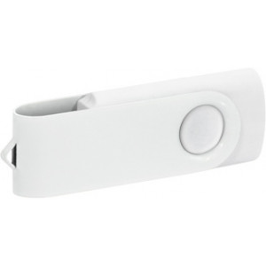 """Reklamní předmět """"Flashdisk USB 2.0"""" v barevné variantě bílá/bílá"""