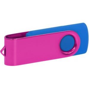 """Reklamní předmět """"Flashdisk USB 2.0"""" v barevné variantě tmavě zelená/žlutozelená"""