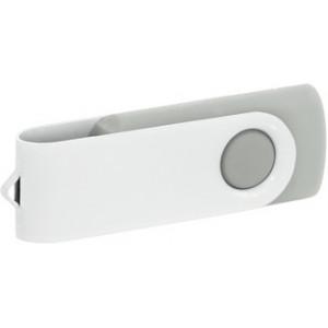 """Reklamní předmět """"Flashdisk USB 2.0"""" v barevné variantě bílá/světle šedá"""