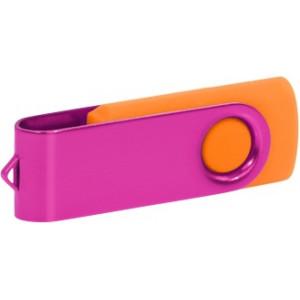 """Reklamní předmět """"Flashdisk USB 2.0"""" v barevné variantě tmavě zelená/fialová"""