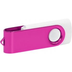 """Reklamní předmět """"Flashdisk USB 2.0"""" v barevné variantě tmavě zelená/oranžová"""