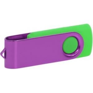 """Reklamní předmět """"Flashdisk USB 2.0"""" v barevné variantě zlatá/oranžová"""