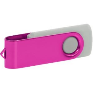 """Reklamní předmět """"Flashdisk USB 2.0"""" v barevné variantě tmavě zelená/žlutooranžová"""