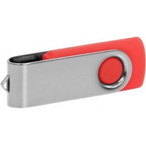 """Reklamní předmět """"Flashdisk USB 2.0"""" v barevné variantě stříbrná/oranžová"""