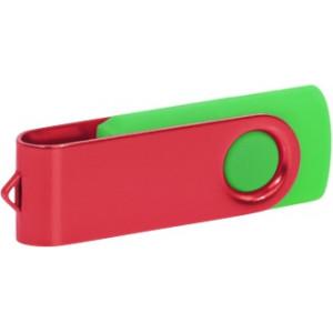 """Reklamní předmět """"Flashdisk USB 2.0"""" v barevné variantě tmavě zelená/šedá"""