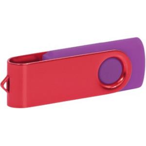 """Reklamní předmět """"Flashdisk USB 2.0"""" v barevné variantě olivová/azurová"""