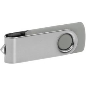 """Reklamní předmět """"Flashdisk USB 2.0"""" v barevné variantě stříbrná/šedá"""