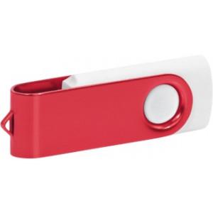 """Reklamní předmět """"Flashdisk USB 2.0"""" v barevné variantě olivová/oranžová"""