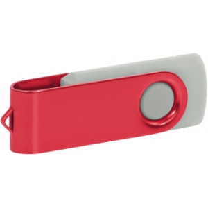 """Reklamní předmět """"Flashdisk USB 2.0"""" v barevné variantě olivová/žlutooranžová"""